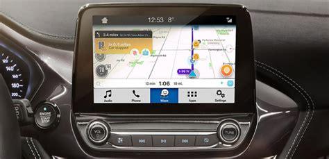 navigatie app waze werkt met fords sync  applink inbouwsysteem