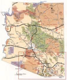 map of page arizona janet shafer image map sle