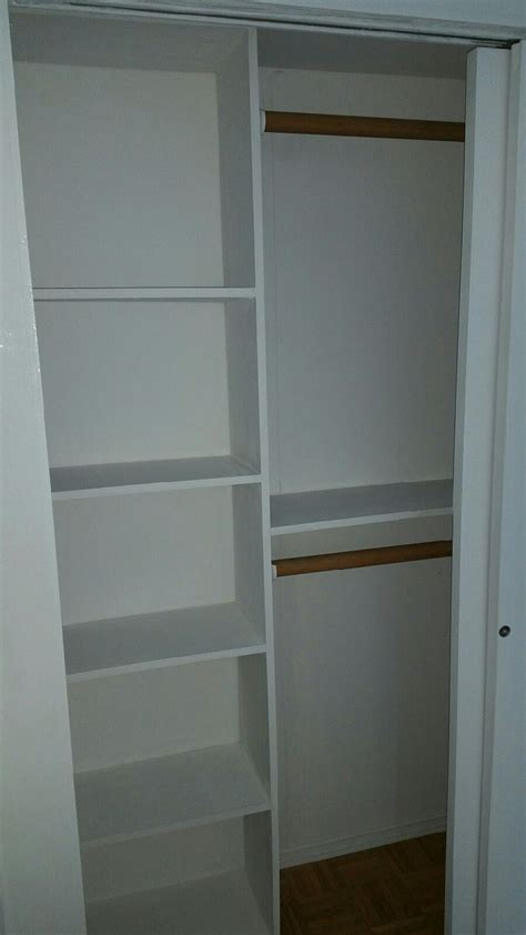 4 Foot Closet Doors Custom Closet Options Nyc New York City 1daywall