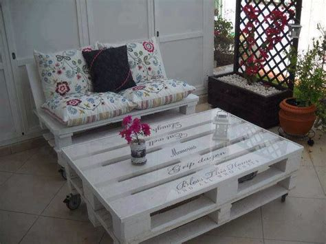 Diy Pallet Patio Furniture Outdoor Living Pinterest How To Make Pallet Patio Furniture