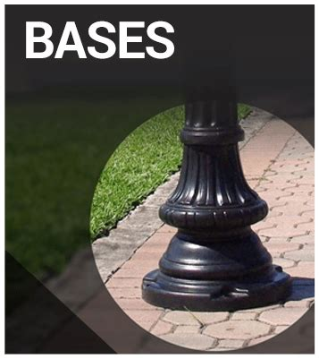 decorative light poles how to upgrade light poles with decorative basesterracast