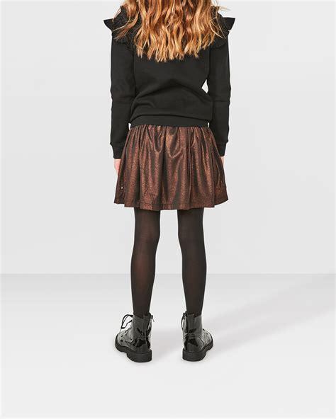 Rok Hana Polos 122 meisjes metalic look skater rok 80344483 we fashion