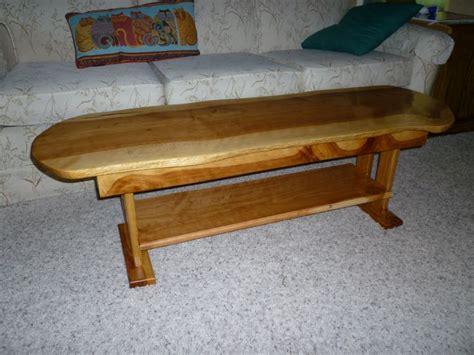 alligator juniper coffee table i just finished
