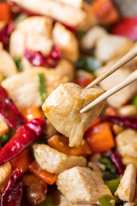 Kung Pao Chicken Lve thestayathomechef