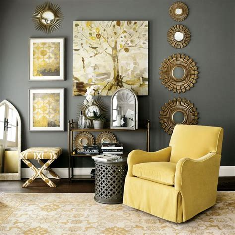Gray And Yellow Chair Design Ideas with Living Room Furniture Living Room Decor Ballard Designs Home Ideas Pinterest Furniture