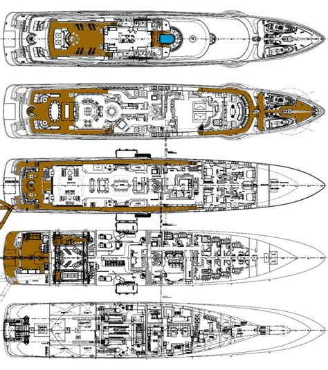 yacht floor plan review oceanco 248 superyacht quot anastasia quot page 3