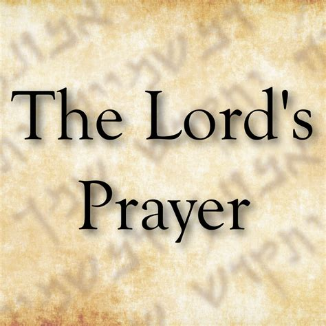 The Lord Prayer the lord s prayer in galilean aramaic aramaic designs