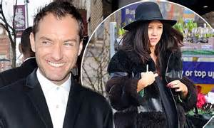 Jude Laws Ex Burgled On Of Breaking And Entering Premiere by Jude Can T Wait For Ex Catherine Harding To