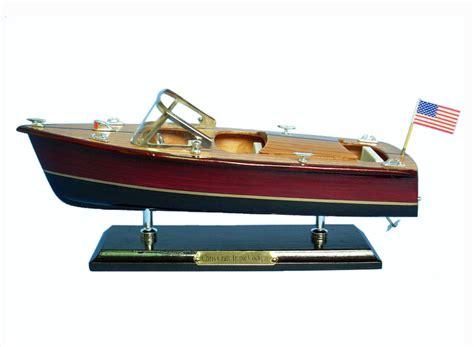 wholesale boats buy wooden chris craft triple cockpit model speedboat 14