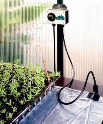 Heizmatte Mit Thermostat 200 by Bio Green Heizmatte 60 X 200 Cm Mit Thermostat Und 263 W