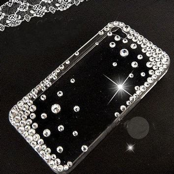 Ballet Rhinestone Cover For Iphone 5c Handmade Import shop 5c clear with bling on wanelo