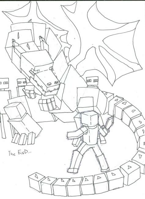 minecraft ender dragon coloring page ender dragon coloring pages google search food