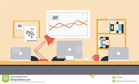 r馭rig駻ateur de bureau illustration de bureau d espace de travail de