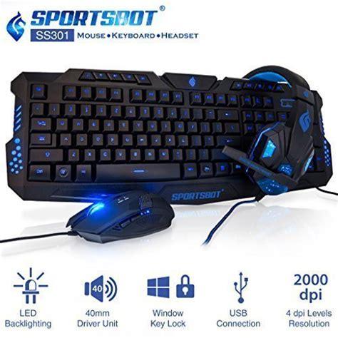 Headphone Keyboard Save 64 99 Sportsbot Ss301 Blue Led Gaming Ear