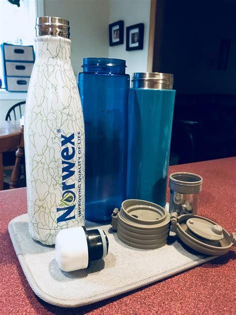 Sink Mat Norwex Large Water Bottles Kitchen   Honest