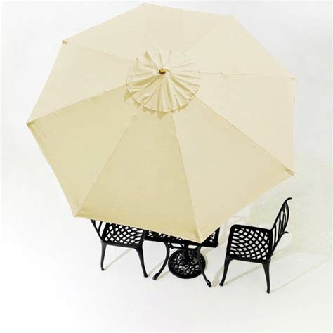 9ft patio umbrella 9ft patio umbrella replacement canopy top cover 8 ribs