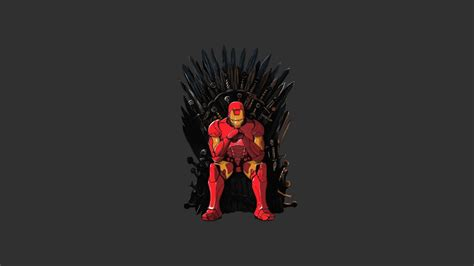 wallpaper game of thrones 1366x768 1366x768 iron man game of thrones mashup desktop pc and