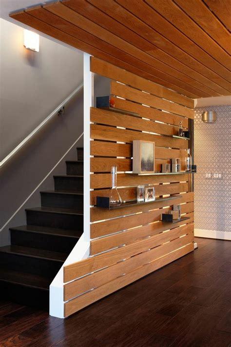 schlafzimmer wand kreative wandgestaltung holzverkleidung innen deko ideen