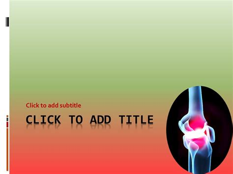animated rheumatology powerpoint template free medical