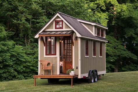 tiny homes with tiny porches small houses youtube timbercraft tiny house living large in 150 square feet