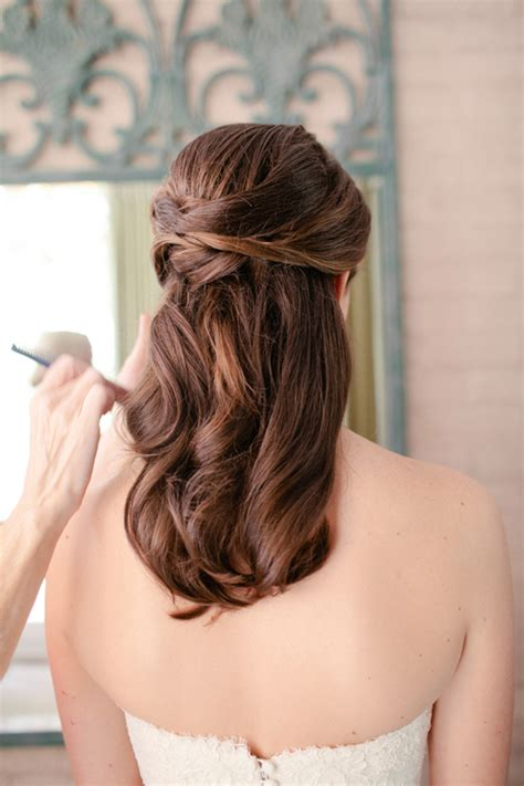 up hairdos back and front half up wedding hair wedding weddings and hair style