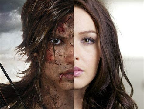 camilla luddington motion capture til when doing the motion capture for rise of the tomb