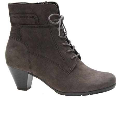 gabor national ankle boots lace fronts charles clinkard