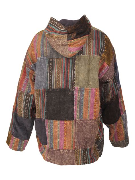 patchwork jacket heavy cotton patchwork jacket karma gear