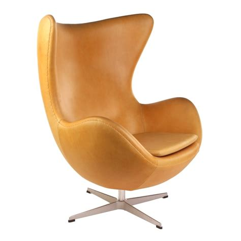 Egg Furniture by Arne Jacobsen Egg Chair Replica In Leather Lobby Lust