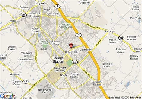 where is college station texas on a map map of residence inn bryan college station college station