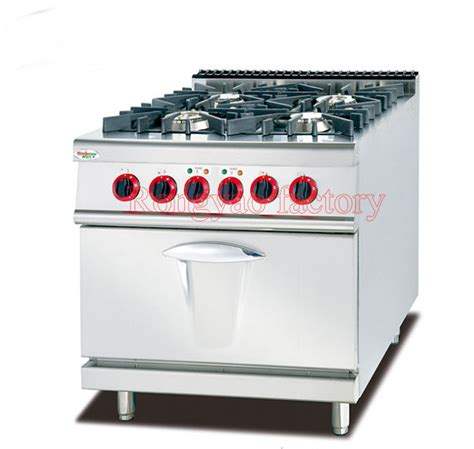 commercial kitchen exhaust hood design 4 burner gas ry gh 987b commercial kitchen equipment with oven 4