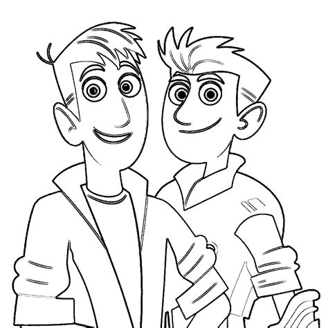 coloring pages of wild kratts wild kratts cheetah coloring coloring pages