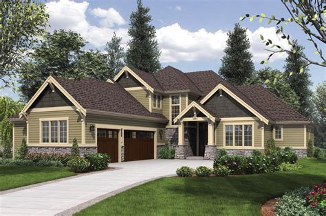 craftsman style house plan 4 beds 3 5 baths 3084 sq ft