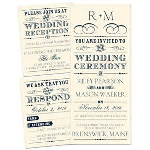 Personalized Wedding Photo Albums Presenting Separate And Send Wedding Invitation Ecru At Ann S Bridal Bargains