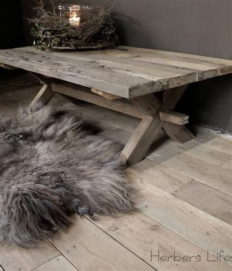 Driftwood Bedside Ls by 25 Beste Idee 235 N Buiten Salontafels Op