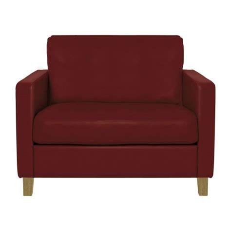 compact leather sofa chester sofas compact sofa red leather habitat