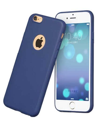 Cover Iphone 5s egotude silicon soft back cover for apple iphone 5s blue buy egotude silicon soft back