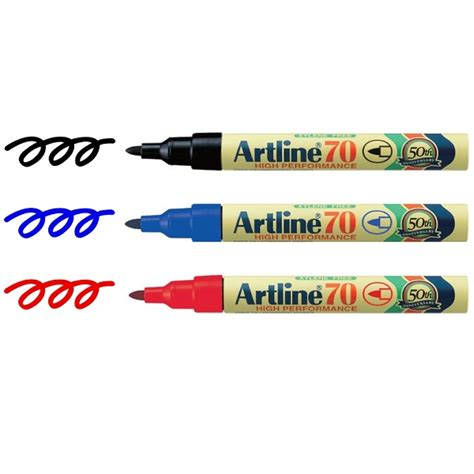 Pen Paper Spidol Artline Permanent Marker 70 artline 70 permanent marker the essentials company
