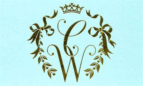 designmantic wedding monogram wedding monogram maker free mini bridal