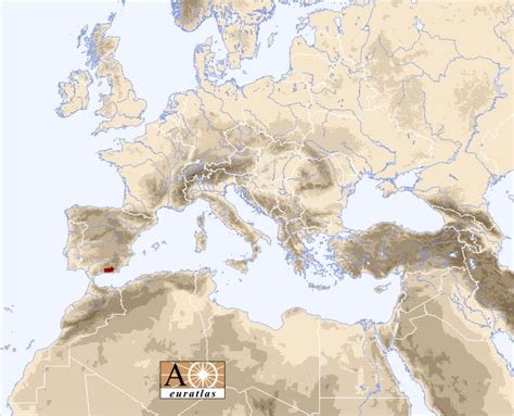nevada mountains map europe atlas the mountains of europe and mediterranean basin baetic nevada