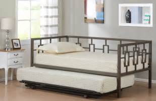 With many pillows full size daybed frame with trundle furniture