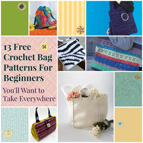 pattern making book for beginners easy beginner crochet bag patterns squareone for