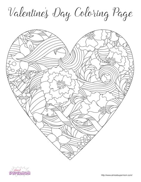 valentines day coloring pages for adults free s day coloring pages for grown ups