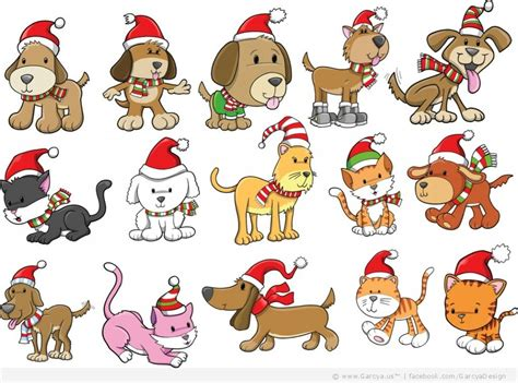 christmas animals animated cat and clipart clipart suggest