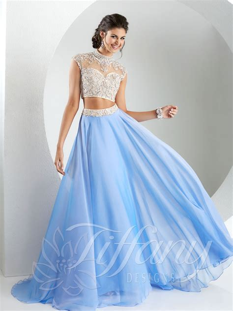 dress design for js prom tiffany designs 16135 prom dress prom gown 16135