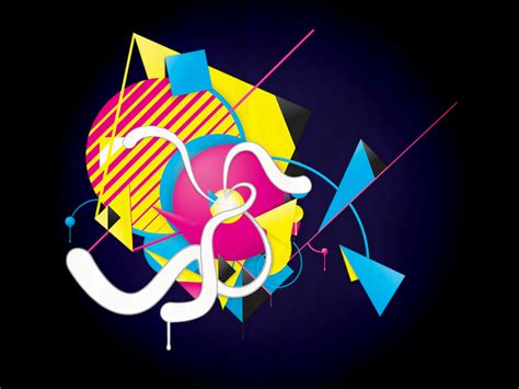abstract wallpaper tutorial illustrator how to create colorful abstract artwork in illustrator