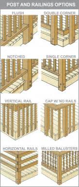 Deck post and railing options decking contractor ma