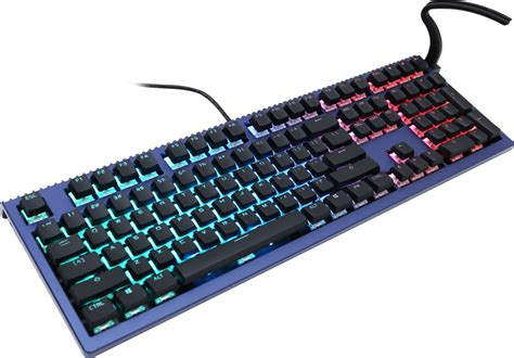 ducky shine 6 special edition rgb led mechanical keyboard black cherry mx