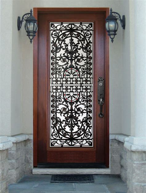 Wood Doors With Glass Inserts Wood Door With Glass Insert Wood Door Gallery Wood