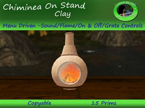Second Chiminea Second Marketplace Chiminea Pit Clay By